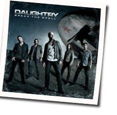 Daughtry chords for High above the ground