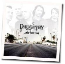 Daughtry chords for Learn my lesson
