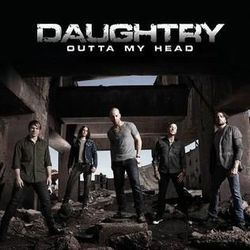 Daughtry chords for Outta my head