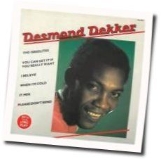 Desmond Dekker tabs and guitar chords