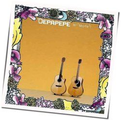 Depapepe guitar chords for Share my world