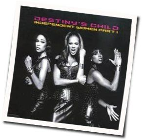 Destinys Child chords for Independent woman