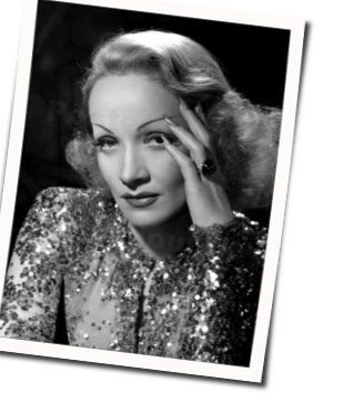 Marlene Dietrich tabs and guitar chords