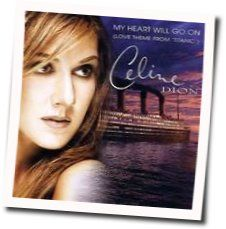 Celine Dion guitar tabs for My heart will go on (Ver. 2)