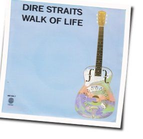 Dire Straits bass tabs for Walk of life