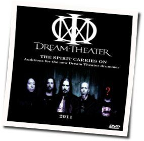 Dream Theater chords for The spirit carries on