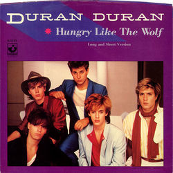 Duran Duran chords for Hungry like the wolf