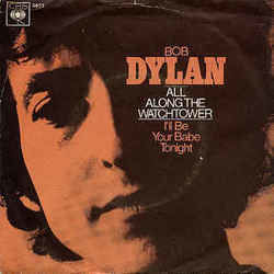 Bob Dylan chords for All along the watchtower
