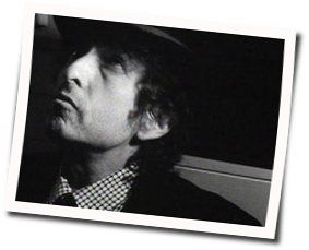 Bob Dylan guitar chords for Blood in my eyes