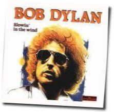 Bob Dylan guitar chords for Blowing in the wind