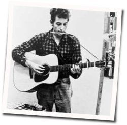 Bob Dylan guitar tabs for Down the highway