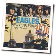 Eagles bass tabs for New kid in town