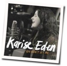 Karise Eden tabs and guitar chords