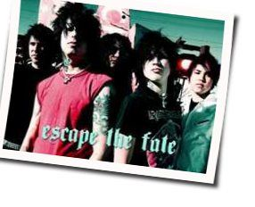 Escape The Fate chords for Beautifully tragic