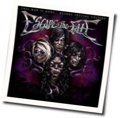 Escape The Fate chords for This war is ours