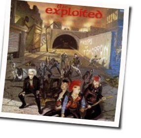 The Exploited chords for Troops of tomorrow