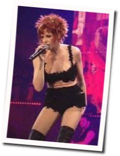 Mylene Farmer chords for Desenchantee
