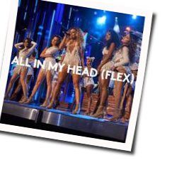 Fifth Harmony chords for All in my head