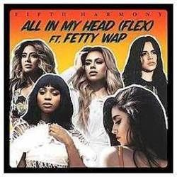 Fifth Harmony chords for All in my head flex
