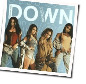 Fifth Harmony chords for Down