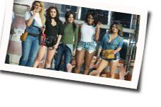 Fifth Harmony chords for I lied (Ver. 2)