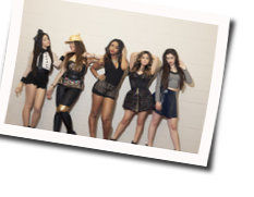 Fifth Harmony chords for Over (Ver. 3)