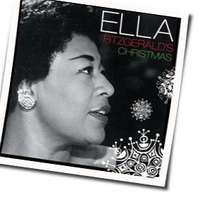 Ella Fitzgerald guitar chords for I saw mommy kissing santa claus