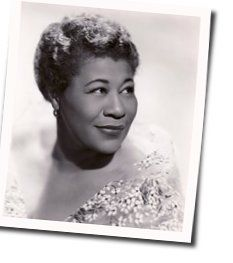 Ella Fitzgerald guitar chords for Love walked in