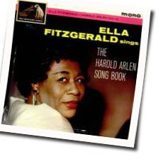 Ella Fitzgerald guitar chords for One for my baby