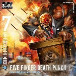 Five Finger Death Punch chords for Top of the world