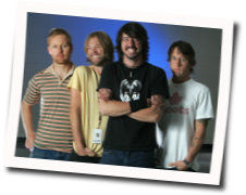 Foo Fighters tabs for A matter of time