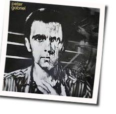 Peter Gabriel chords for My body is a cage