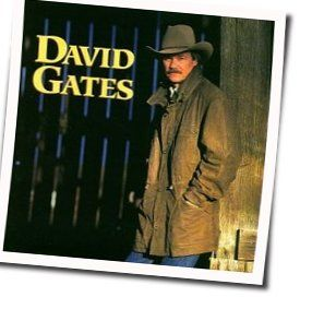 David Gates guitar chords for I cant find the words to say goodbye (Ver. 2)