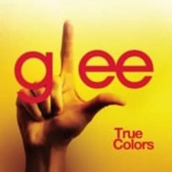 Glee Cast chords for True colors