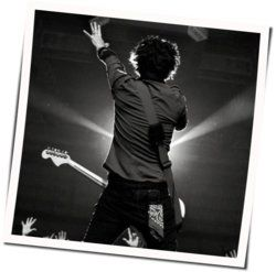 Green Day guitar chords for I want to be alone