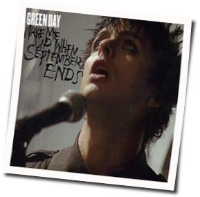 Green Day guitar chords for Wake me up when september ends (Ver. 3)