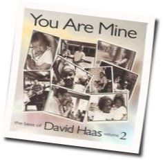 David Haas guitar chords for You are mine