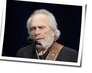 Merle Haggard guitar chords for Agg in oker