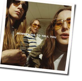 Haim bass tabs for Something to tell you