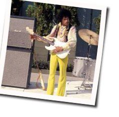 Jimi Hendrix bass tabs for Red house