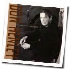Don Henley chords for The end of the innocence