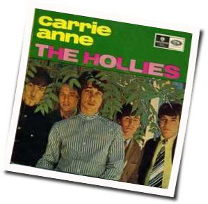 The Hollies chords for Carrie anne