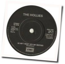 The Hollies chords for He aint heavy