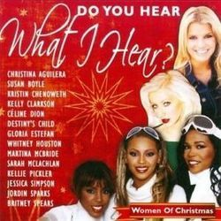 Whitney Houston guitar chords for Do you hear what i hear