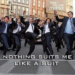 How I Met Your Mother guitar chords for Nothin suits me like a suit