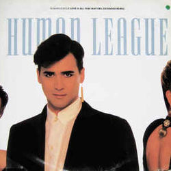 The Human League chords for Love is all that matters