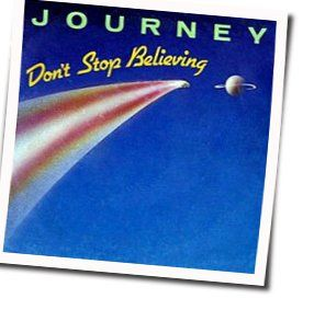 Journey chords for Dont stop believin (Ver. 2)
