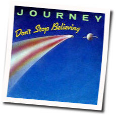 Journey chords for Dont stop believing