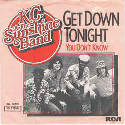 Kc And The Sunshine Band guitar chords for Get down tonight