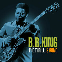 B. B. King chords for The thrill is gone